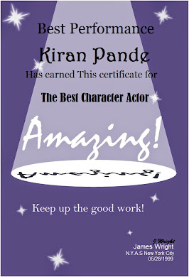 Actor's Award to Author