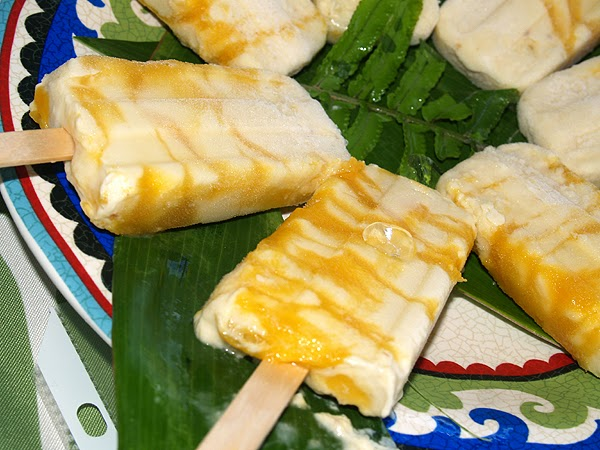 Picture of breadfruit popsicles