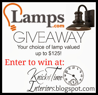 Knick of Time Lamps.com Giveaway