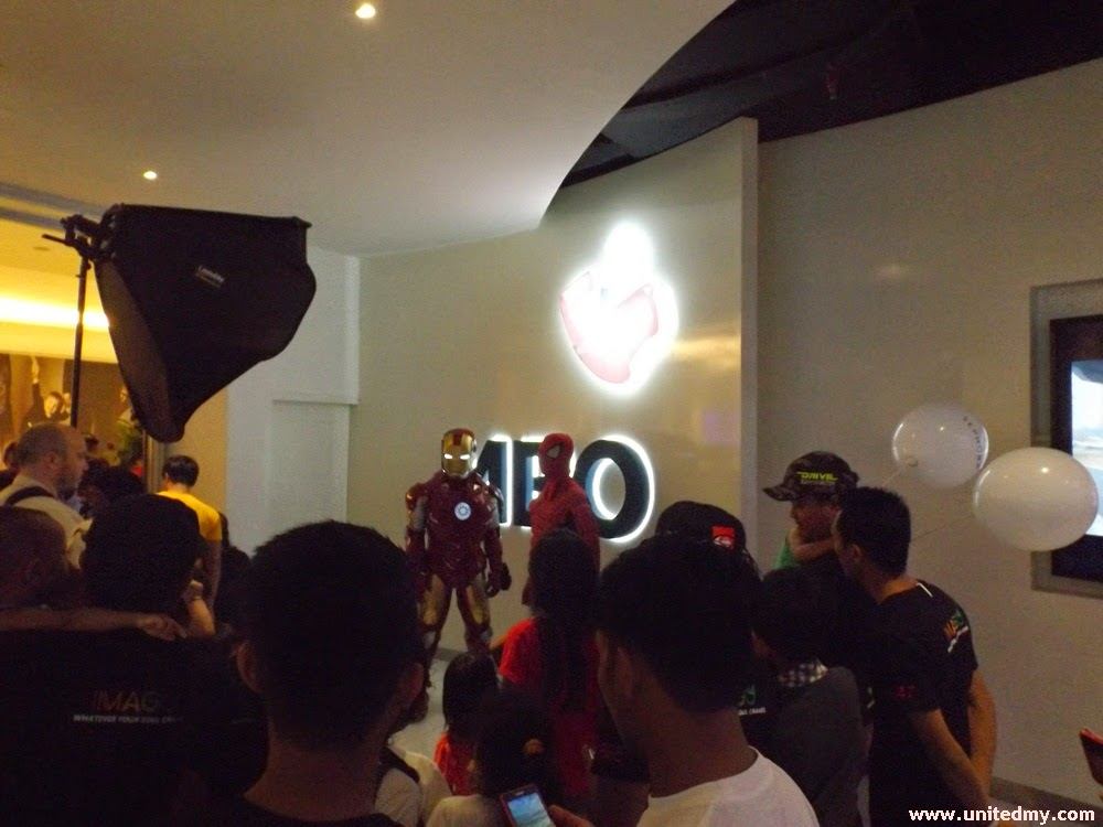 MBO cinema-Imago mall-iron man and spiderman