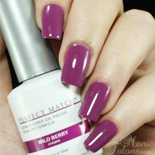 LeChat Wild Berry Swatch