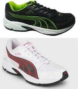 Puma Strike Dp Black Running Shoes