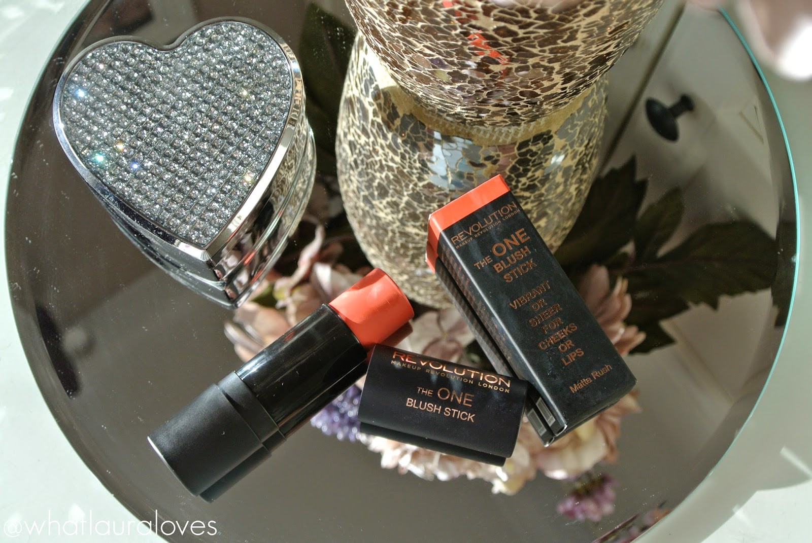 Makeup Revolution The One Blush Stick in Matte Rush