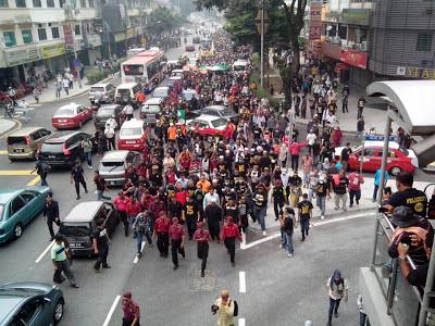 Lintas langsung Himpunan Black505 Padang Merbok 22 Jun 2013
