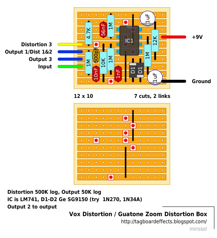 guyatone wiring diagram wiring diagram directory  stompboxed the guitar pedal builders