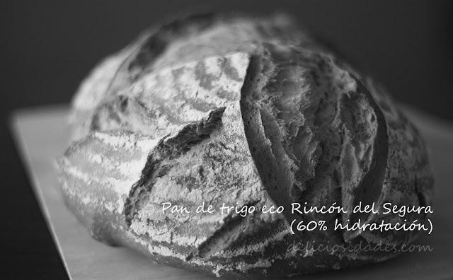 deliciosidades - pan de trigo ecológico Rincón del segura.