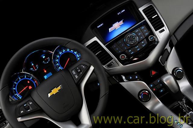 Chevrolet Cruze LTZ 2012 - painel