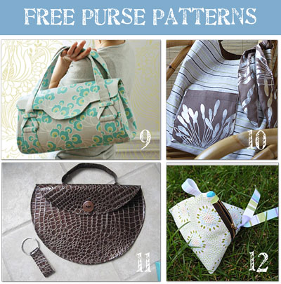 Free Purse Patterns : Bag Gloves Images: Free Bag Patterns Sewing