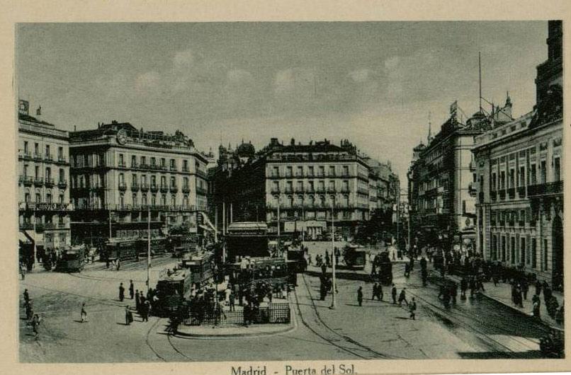 Por Las Calles De Madrid La Historia De La Puerta Del Sol