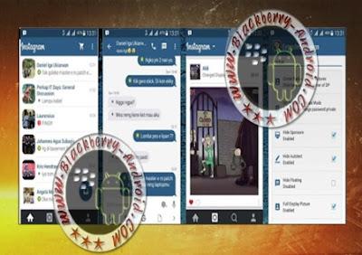 Ubdate BBM Mod Tema Instagram v2.9.0.51 Apk Clone