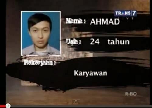Ahmad Peserta Uji Nyali