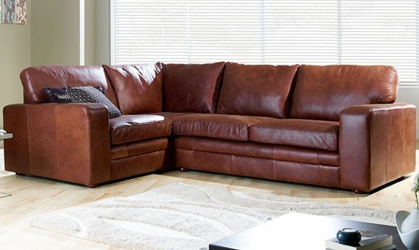 leather corner sofa beds