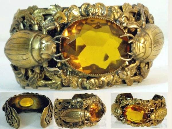 Scarab Bracelet Vintage2