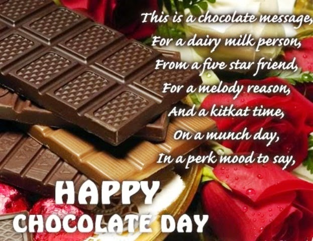 happy chocolate day sms 2015