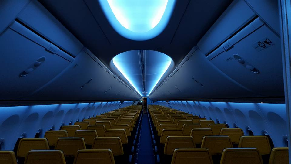 Irish aviation research institute ryanair takes delivery for Interieur 737