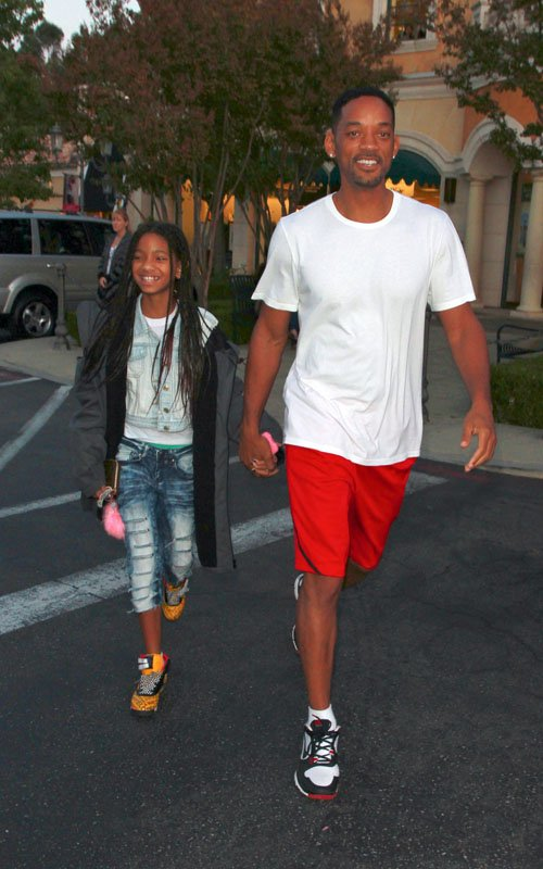 Father-Daughter Time: Willow And Will Smith!