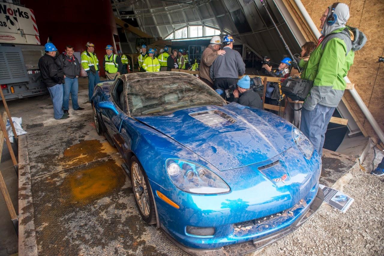 2009 Chevrolet Corvette ZR1 Blue Devil