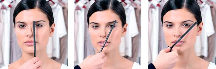 Como medir as sobrancelhas para conseguir a forma correta