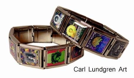 http://www.detroiturbandesignstudio.com/artwear/carl-lundgren/large-italian-charm-bracelet-rock-and-roll-poster-art-by-carl-lundgren/