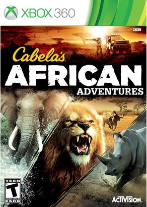 Cabelas African Adventures XBOX 360 NTSC XGD2