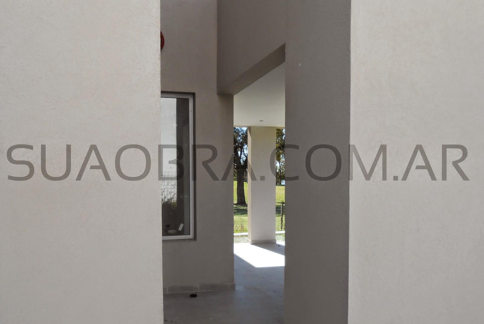 Revestimientos plasticos por suaobra com paredes con for Revestimiento plastico para paredes