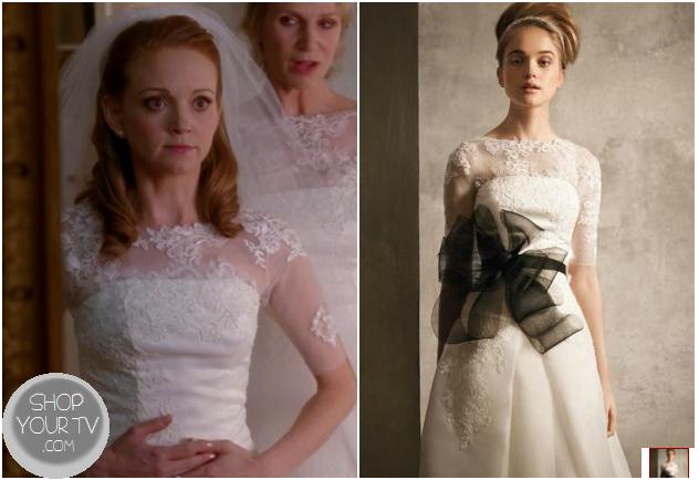 Glee Season 4 Episode 14 Emmas Wedding Dress