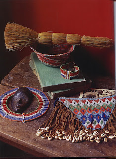 People have perfected bead weaving techniques on every continent and in all civilizations. Color choices are often symbolic.