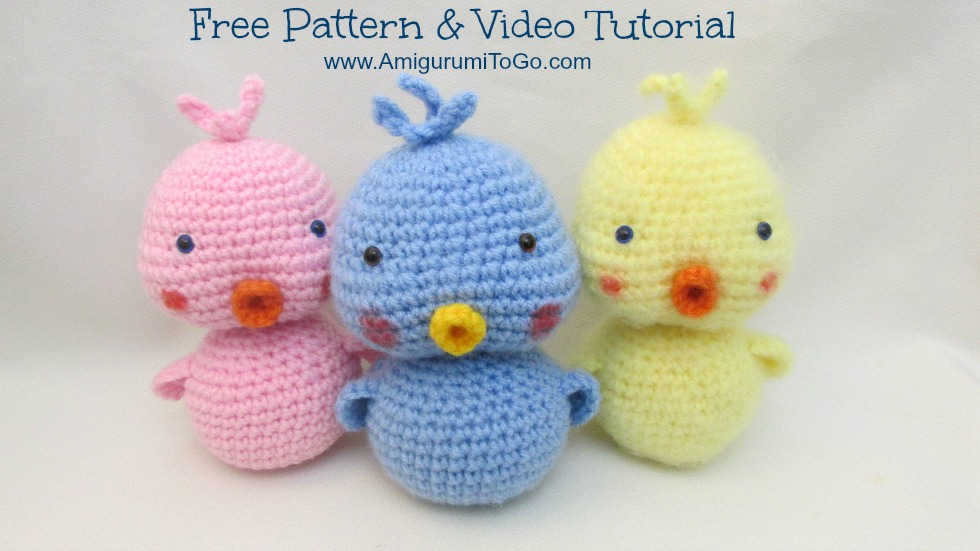 Amigurumi Duck Video Tutorial ~ Amigurumi To Go