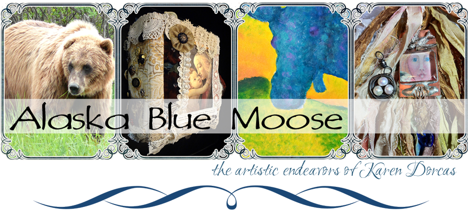 alaska blue moose