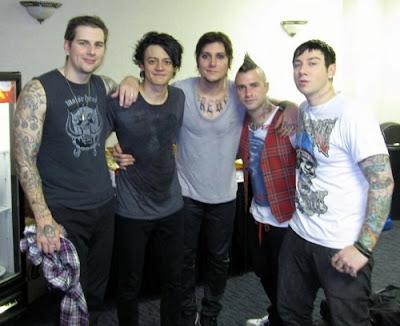 Formasi Avenged baru Sevenfold 2012