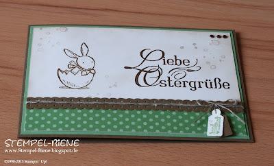 Osterkarte; Hasenparade; Kommunionkarte; Einladungskarte Kommunion; Hochzeitskarten; Geburtstagskarte Mann; Männerkarte; Männergeburtstagskarte; Osterworkshop; colorieren; scrapbooking; Stampin' write marker; embossing; Scrapbooking; Scrapbook; Stempel-biene; stampin' up; Stampin' up recklinghausen; Workshops; Prägeform Blumenranke; www.stempel-biene.de; Karten basteln stampin' up, basteln stampin up, workshop stampin up, sammelbestellung, stempelparty, 720 euro party, Stempel-biene Recklinghausen, stempelbiene recklinghausen, Anleitung Bigz L Knallbonbon, Anleitung Knallbonbon, Kommunionkarte