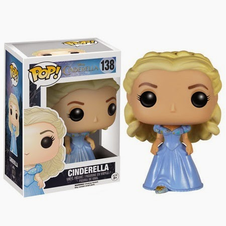 Cinderella Movie Pop! Disney Vinyl Figures by Funko - Cinderella