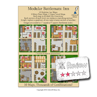 Frugal GM Review: Modular Battlemats: Inn