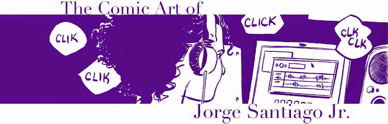 The Comic Art of Jorge Santiago Jr.