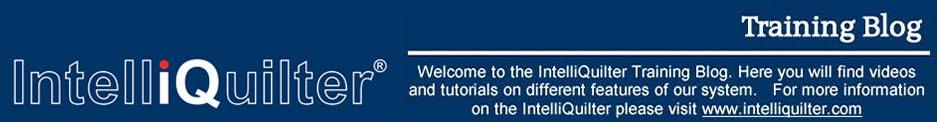 IntelliQuilter Training Videos