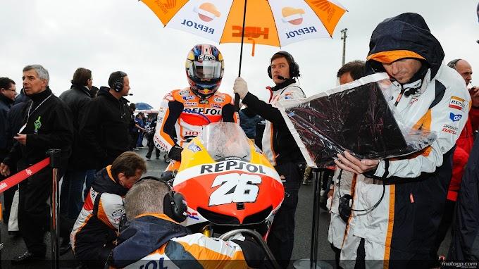 MotoGP Le Mans 2013, Hujan Buat Segalanya Seru