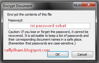 Cara Mudah Kunci Atau Password File Excel
