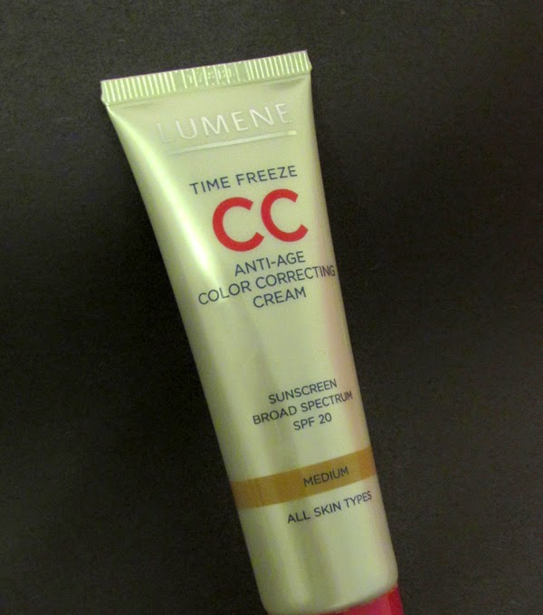Lumene Time Freeze CC Anti-Age Color Correcting Cream