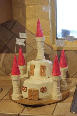 Kid's Medieval Cake Ideas