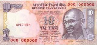 Otros valores de la rupia en otras monedas