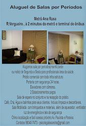 Aluguel de Sala por Períodos - Ana Rosa
