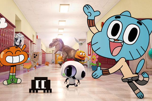 Watching the amazing world of gumball (episode is the storm and masami rage mode) - YouTube