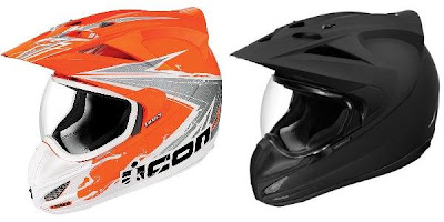 Bright Vs Matt Black Color on Helmet