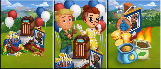 Radio Table Cover FarmVille 2: Build Your Radio Table! (Coming Soon)