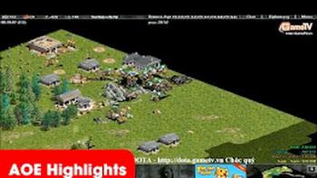 """AOE Highlights - Tình huống trong game, Gunny ác hơn """"tê giác"""" (BLV Bờm)"""