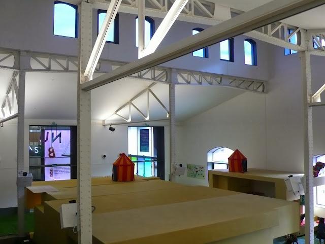 taller chiquitectos casa del lector pequeña fashionista