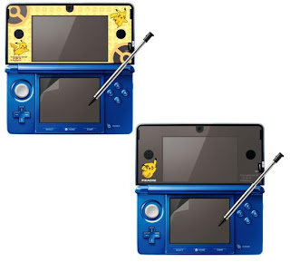 3DS Pikachu Display Film MoriGames