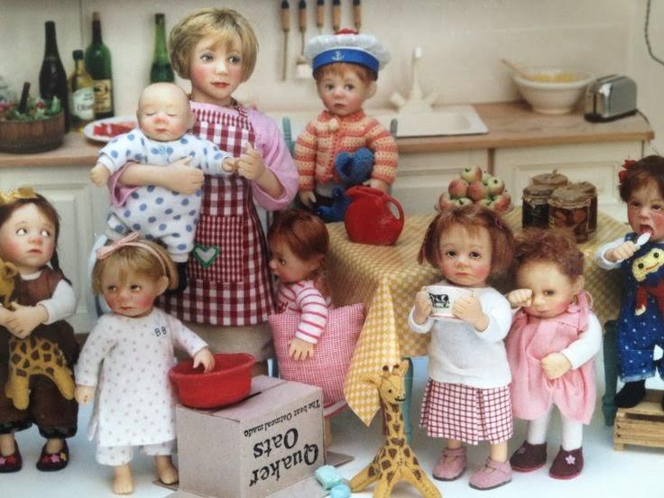 Dollhouse-Miniatures Blog: Dollhouse Miniature Dolls by ...