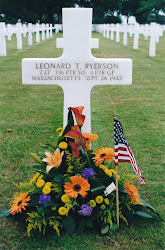 Len's Grave. Brittany American Cemetery in St. James, France
