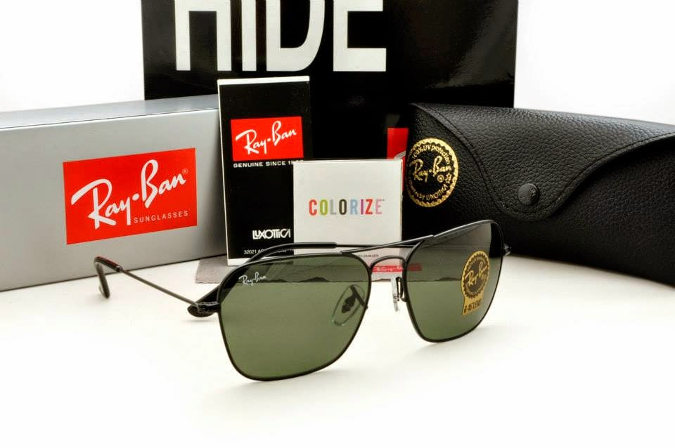 Ray Ban - Caravan RB3415 Black Frame, Grey Gradient Lens | Caravan, Original Grade, High Quality, Sunglasses, Malaysia
